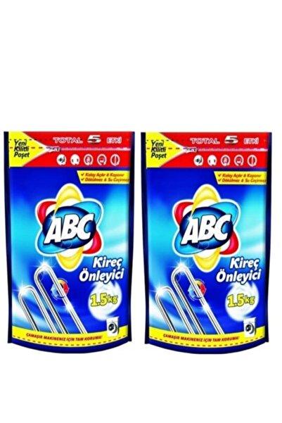 ABC 2 Adet Kireç Önleyici (Çamaşır Makinesi Koruyucu) 1500 gram