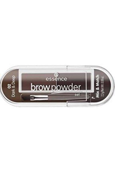 Brow Powder - Kaş Farı No: 01 Light/Medium  4059729271204