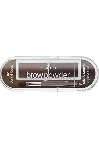 Essence Brow Powder - Kaş Farı No: 01 Light/Medium  4059729271204