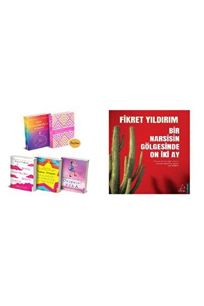 Destek Yayınları Bircan Yıldırım Özel Defter Hediyeli 4 Kitap Takım + Bir Narsisin Gölgesinde On Iki Ay
