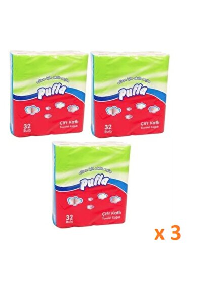 pufla 3 X 32 Li Tuvalet Kağıdı