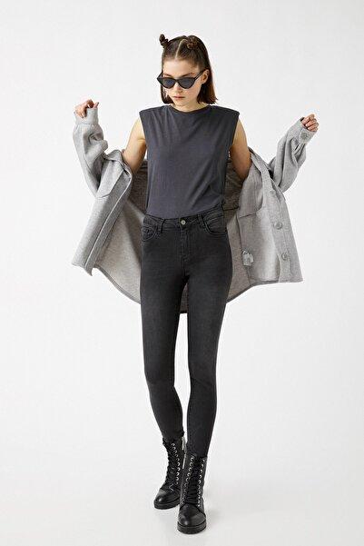 Koton Kadın Siyah Jeans 9KAK47018DD