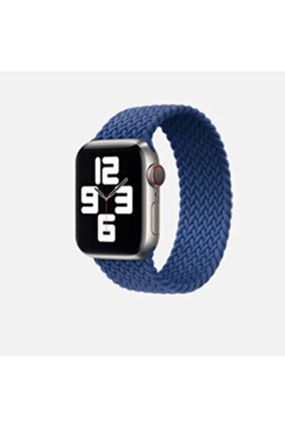 zore Apple Watch 44mm Krd-32 Large Kordon-mavi