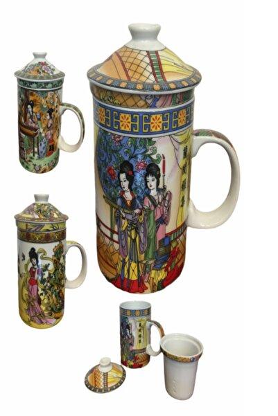 Cemile Porselen Çay Demleme Kupası