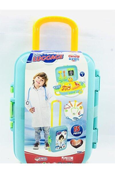 Dede Oyuncak Dede Doktor Set Bavulum Oyuncak