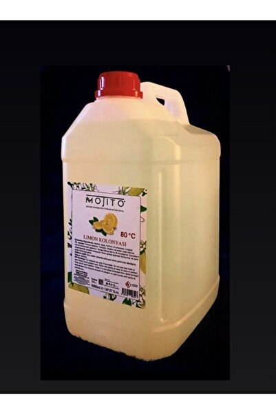 Mojito Limon Kolonyası 80 Derece 5 lt