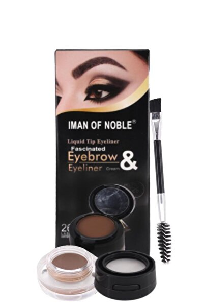 IMAN OF NOBLE Kaş Farı & Krem Eyeliner (2-4-5)