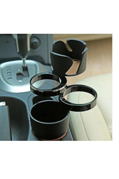 MeyZone Fonksiyonel Araç Oto İçi Bardak Tutucu + Telefon Tutucu Bardaklık