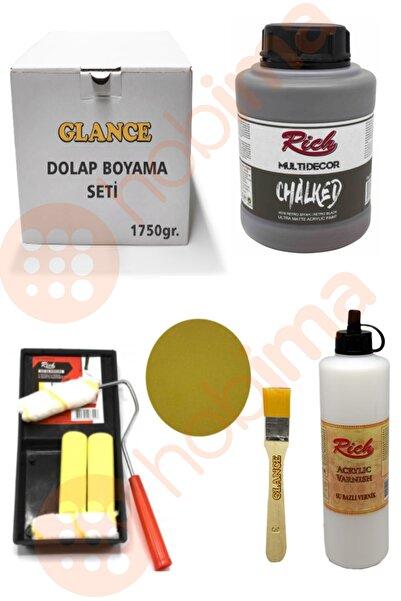 Rich Dolap Boyama Seti Chalked 1750 gr Retro Siyah