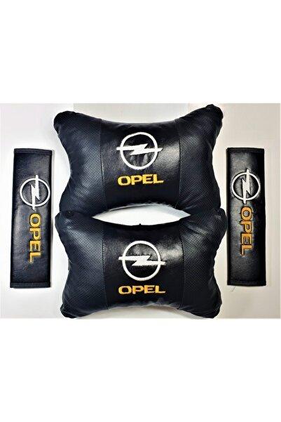 BsElektronik Opel Papyon Yastık Boyun Yastığı + Emniyet Kemeri Kılıfı Takım