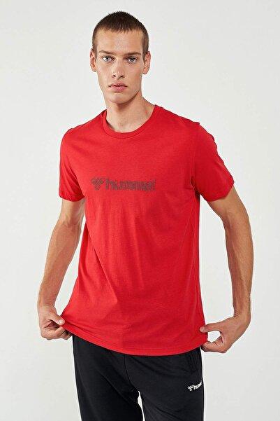 HUMMEL Erkek Kırmızı Kısa Kollu Tişört