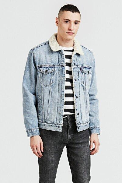 Levi's Erkek Mavi Jean Ceket 16365-0070