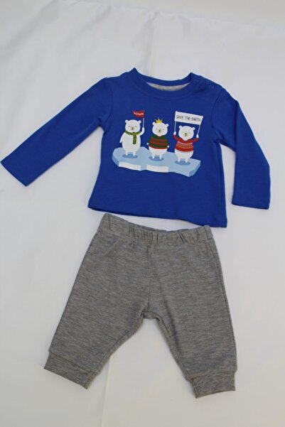 Wonder Kıds Bebek Wonder Kids Pijama Takımı