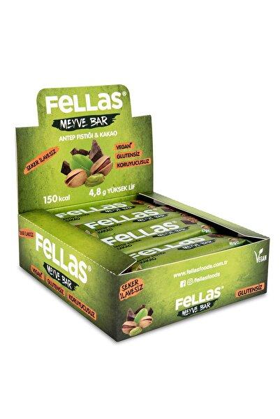 Fellas Meyve Bar - Antep Fıstıklı Ve Kakaolu 40 Gr X 12 Adet