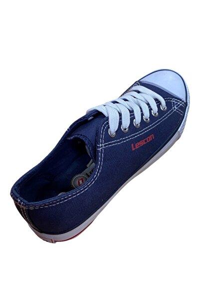 Lescon Unisex Lacivert Keten Ayakkabı Lk-364-12y