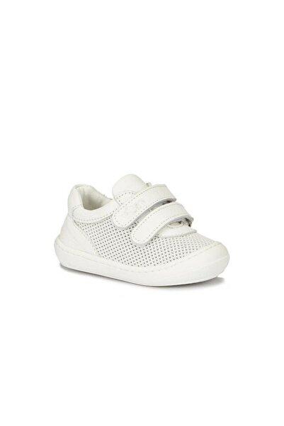 Vicco Ilk Adım Deri Ayakkabı Bebek Beyaz