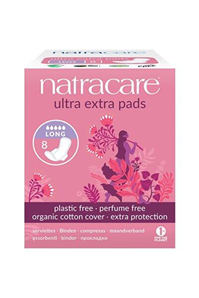 Natracare Ultra Ekstra Kanatlı Ped Uzun Gece