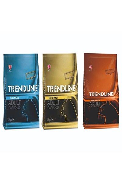 Trendline Karışık Somonlu-Kuzulu-Gurme 3x1 kg