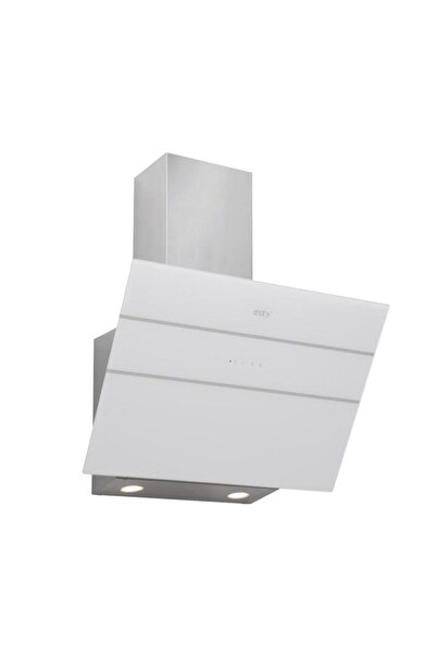 Esty 3473 Plus Beyaz Cam Davlumbaz (60 Cm)