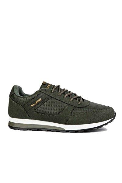 Marsetti Haki Sneaker Spor Ayakkabı