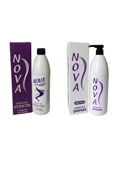 Nova Keratin Ve Keratinli Tuzsuz Şampuan
