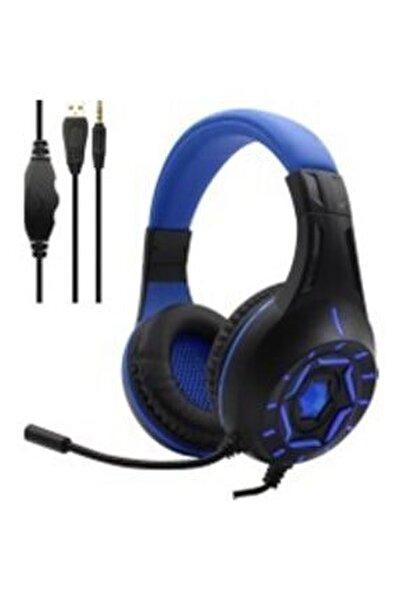 Stereo Pc-xbox One-ps4 Led Oyuncu Gaming Kulaklık -mavi315