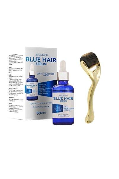 Jeunesse Blue Mavi Saç Serumu Ve Dermaroller 2'li Set