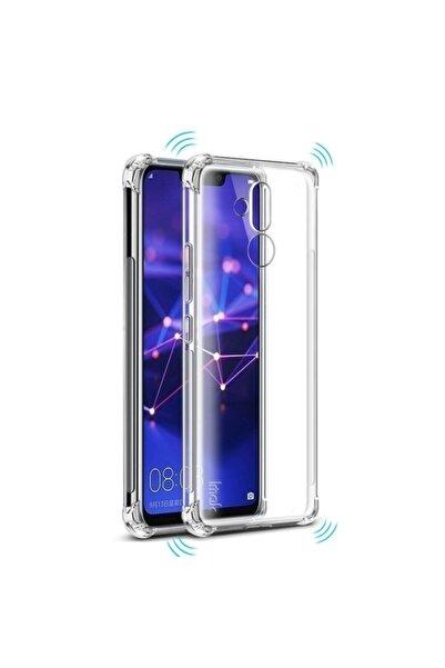 Huawei Teleplus Mate 20 Lite Darbe Koruma Silikon Kılıf Şeffaf