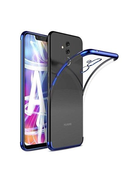 Huawei Teleplus Mate 20 Lite Lazer Silikon Kılıf Mavi + Nano Ekran Koruyucu