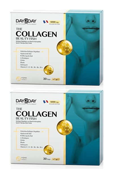 DAY2DAY The Collagen Beauty Fish 30 Saşe 2 Adet