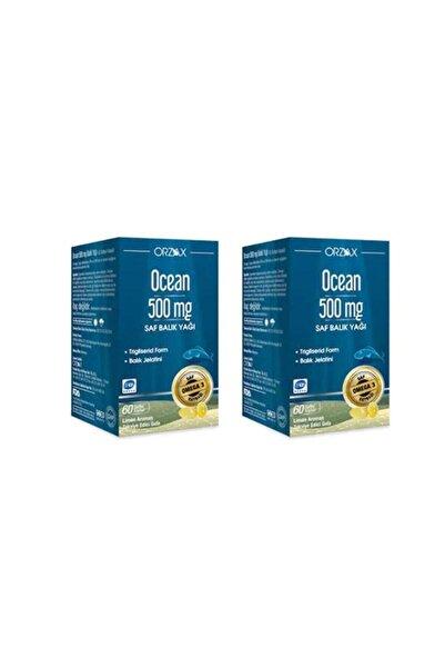 Ocean 500 Mg Saf Balık Yağı 60 Kapsül 2'li Paket