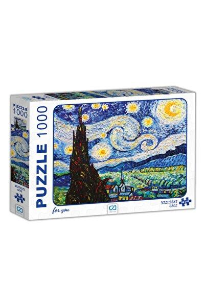 CA Games Yıldızlı Gece Puzzle 1000 Parça