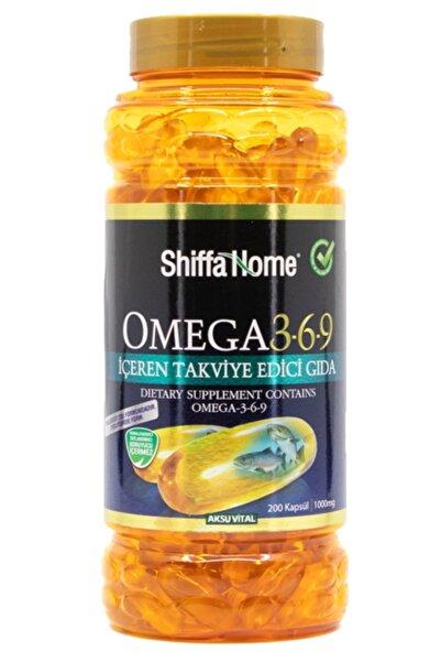 Shiffa Home Omega 3 6 9 1000mg 200 Kapsül