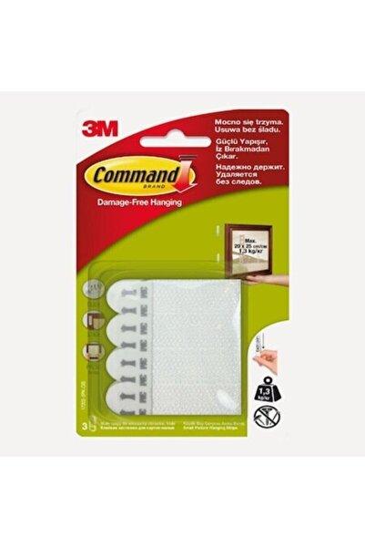 3M Command 17202 Küçük Boy 6 Ad. Cırt Bant Çerçeve Asma Bant