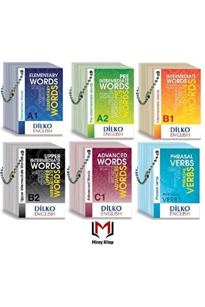 Dilko Yayıncılık Ingilizce Kelime Kartları A1-a2-b1-b2-c1-phrasal Verbs