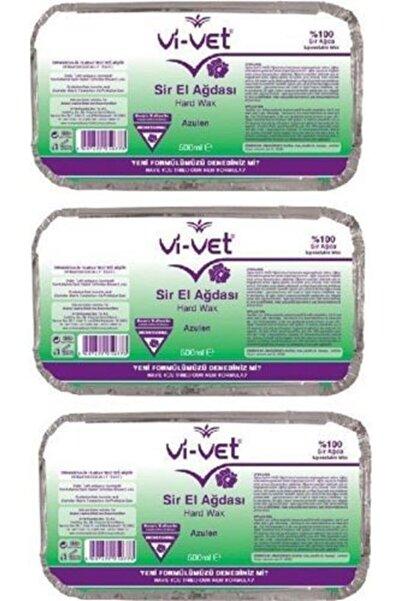 Vi-vet Vi Vet Sir El Ağdası Azulen Kalıp Ağda 500mlx3 Yeşil