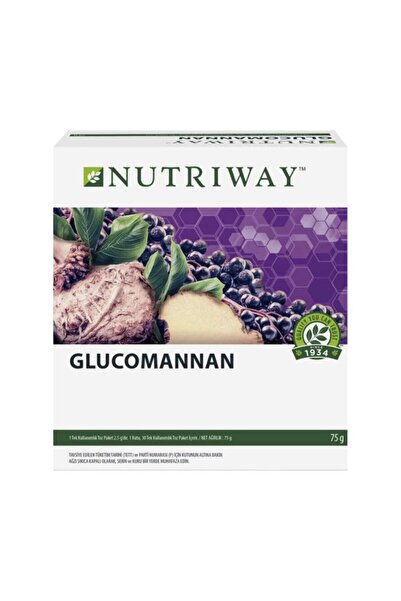 Amway Glucomannan Nutrıway™ ( 30'lu Paket )