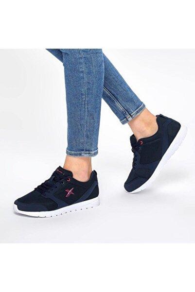 Kinetix Kadın Lacivert Fuşya Yürüyüş Ayakkabısı 667800000279