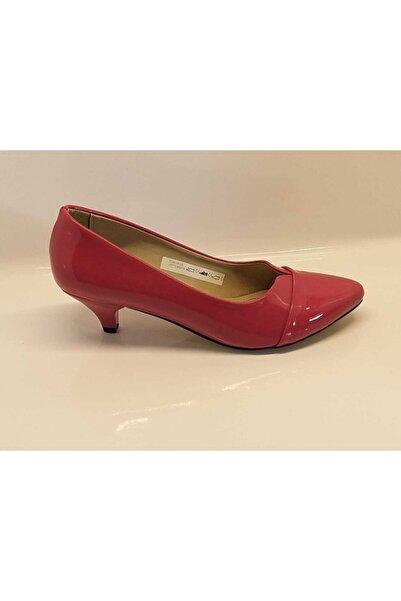 PUNTO Kadın Fuşya Topuklu Ayakkabı