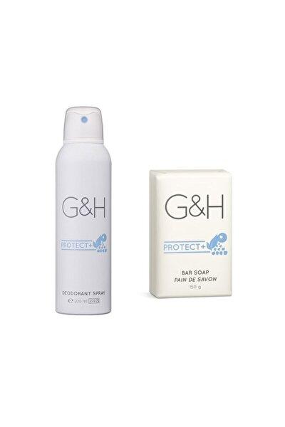 Amway Deodorant Spray + 1 Bar Sabun G&h Protect+
