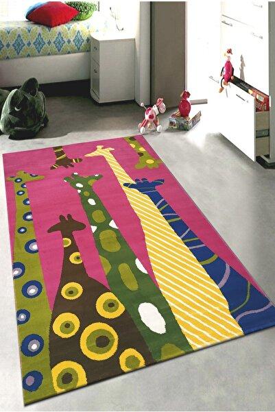 Payidar Halı Kids Amigo 8511a Zürafalar Desenli Çocuk Halısı