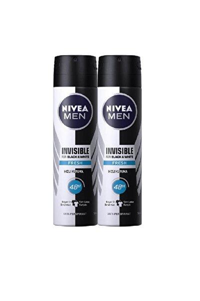 Nivea Spreydeo Inv B&w Fresh Erkek 150 Ml 2'li Avantaj Paketi