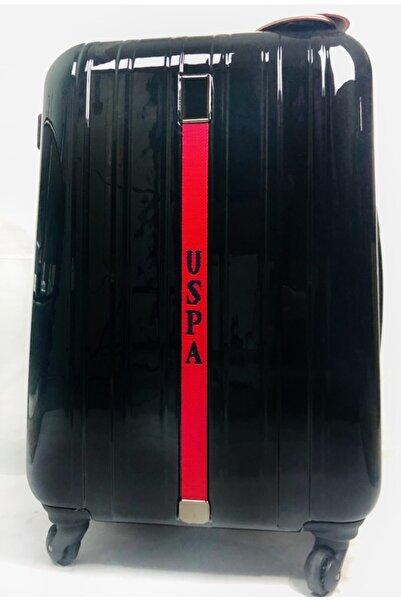 U.S. Polo Assn. Unisex Tekli Büyük Boy Valiz