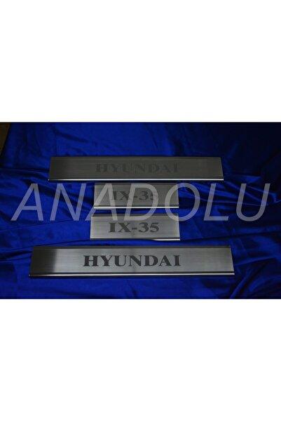 Hyundai Ix 35 Krom Kapı Eşiği 4 Parça