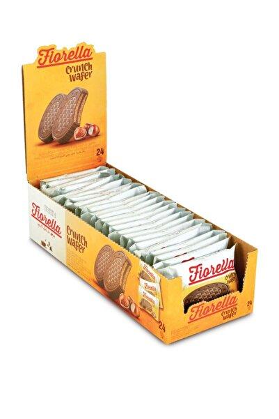 FIORELLA Crunch Çikolatalı Gofret 20 gr  24'lü (1 Paket)
