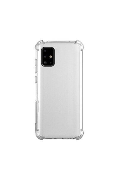 Samsung Teleplus Galaxy A51 Kılıf Darbe Korumalı Silikon Şeffaf