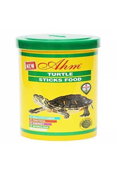 Ahm Turtle Sticks Green Food Kaplumbağa Yemi 100 Ml