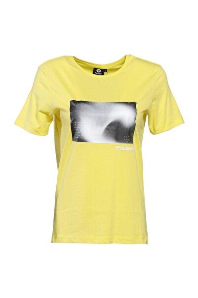 HUMMEL Kadın Sarı T-Shirt