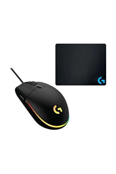 logitech G102 Siyah Lightsync Gaming Mouse + Gaming Mouse Pad 40x30cm
