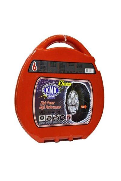 KNK 01 6x Kar Zıncırı Takmatık Capraz 13-14-15-16-19 Jant Ebatlar Icın Açıklamayı Okuyunuz
